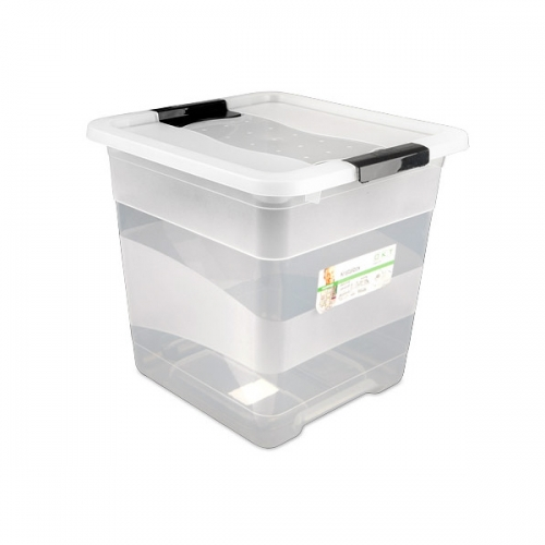 Ящик для хранения Crystal-box 30л с крышкой