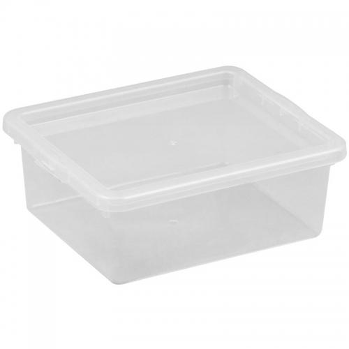 Ящик для хранения с крышкой 1.5л BASIC 2291