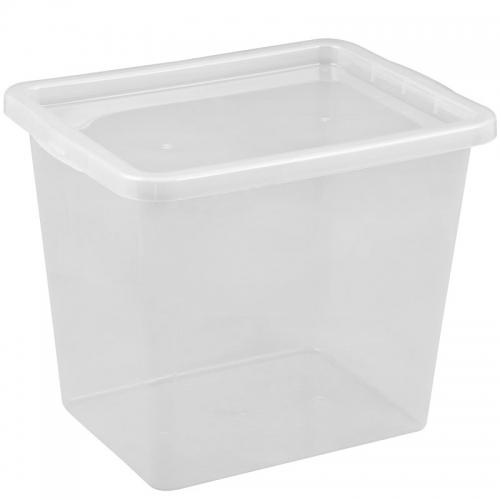 Ящик для хранения с крышкой 29л BASIC