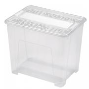 Ящик для хранения Tex-Box прозрачный 25л
